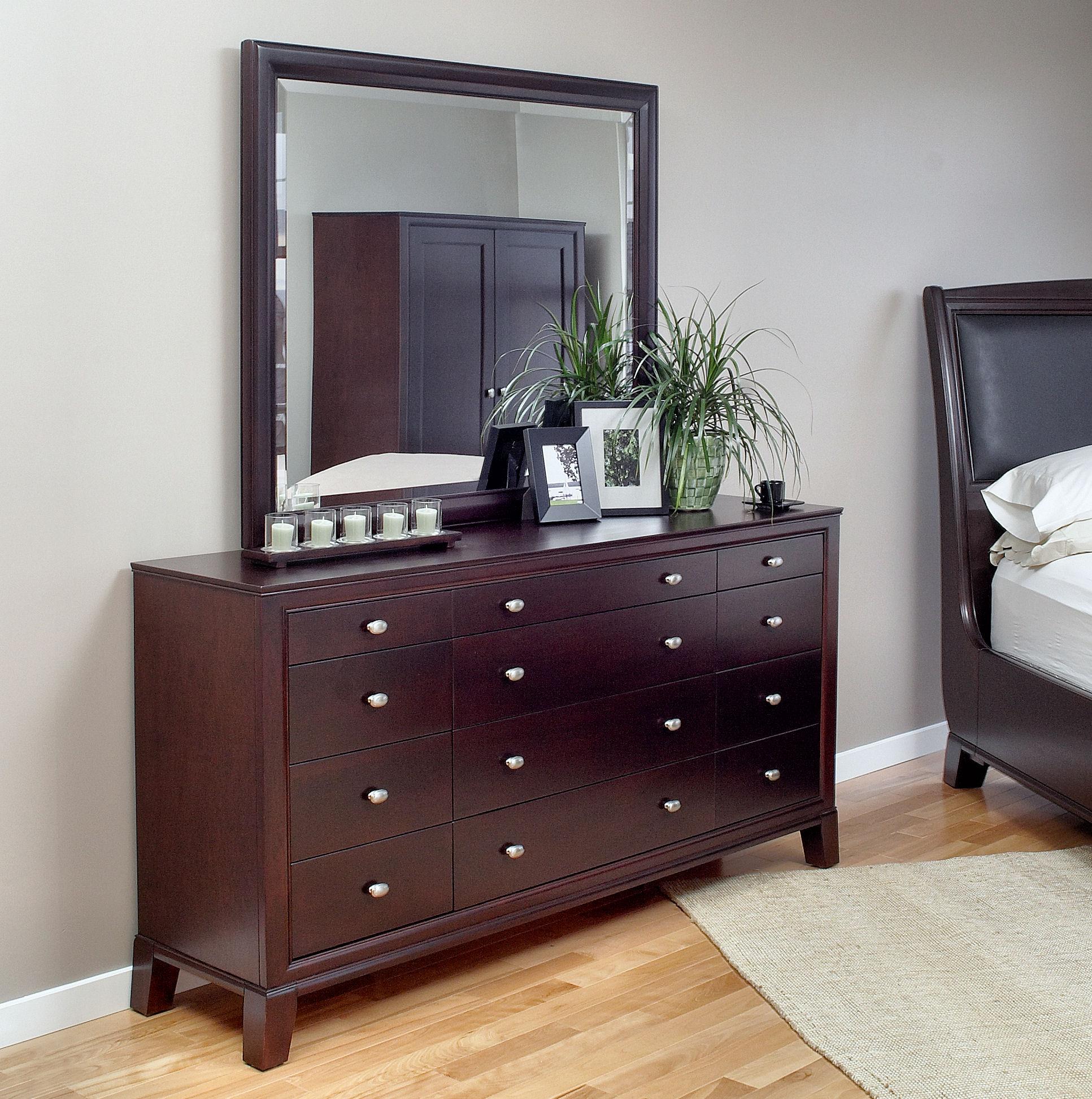 3001 triple dresser, 3008 landscape mirror